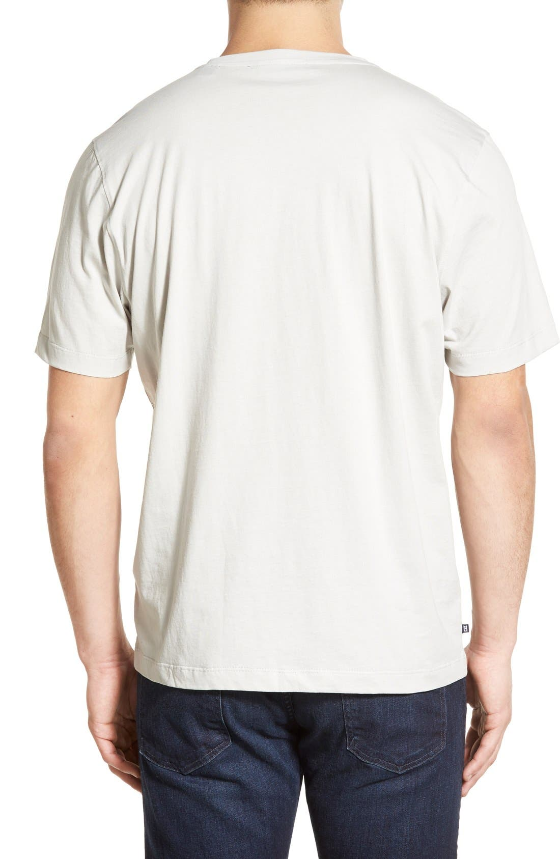Alternate Image 2  - Cutter & Buck Sida V-Neck T-Shirt