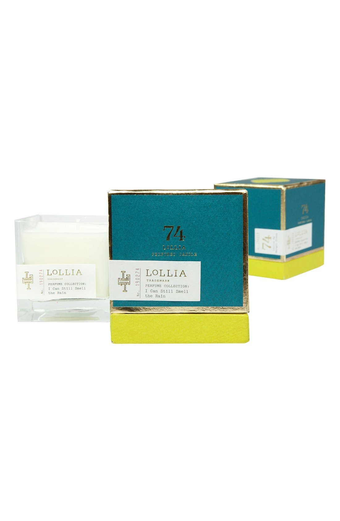 Perfumed Candle,                         Main,                         color, Lily/ Geranium