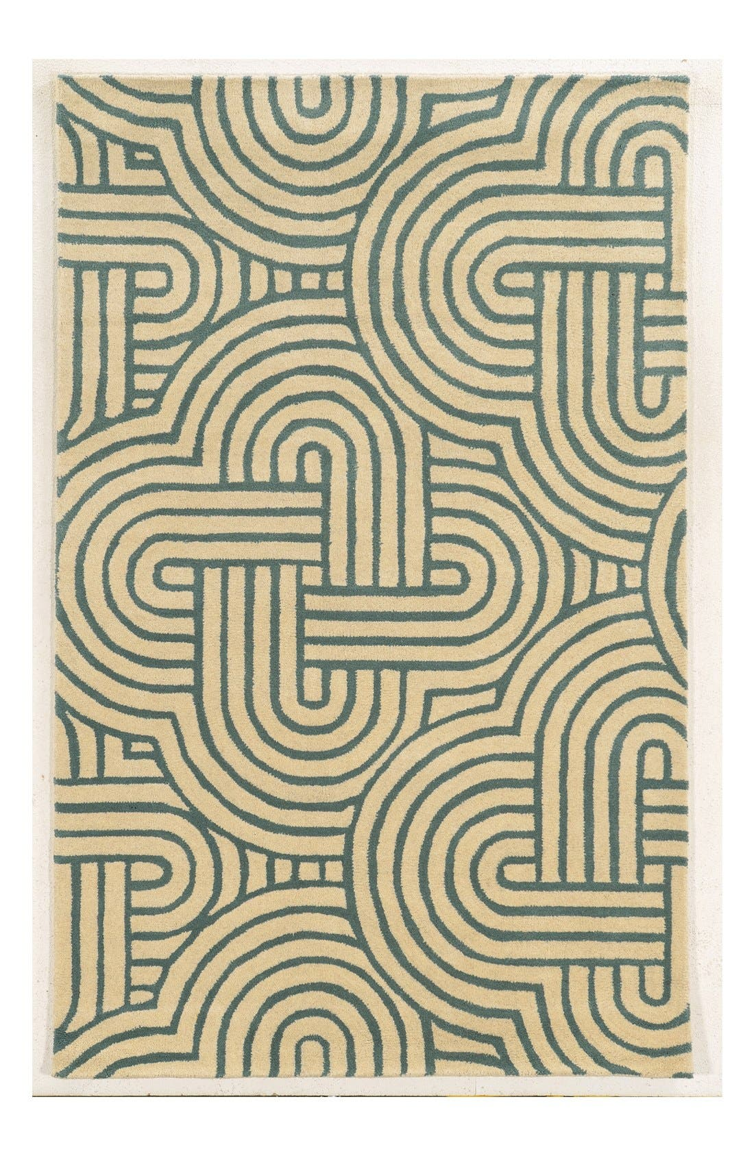 Alternate Image 1 Selected - Rizzy Home 'Julian Pointe' Hand Tufted Wool Area Rug