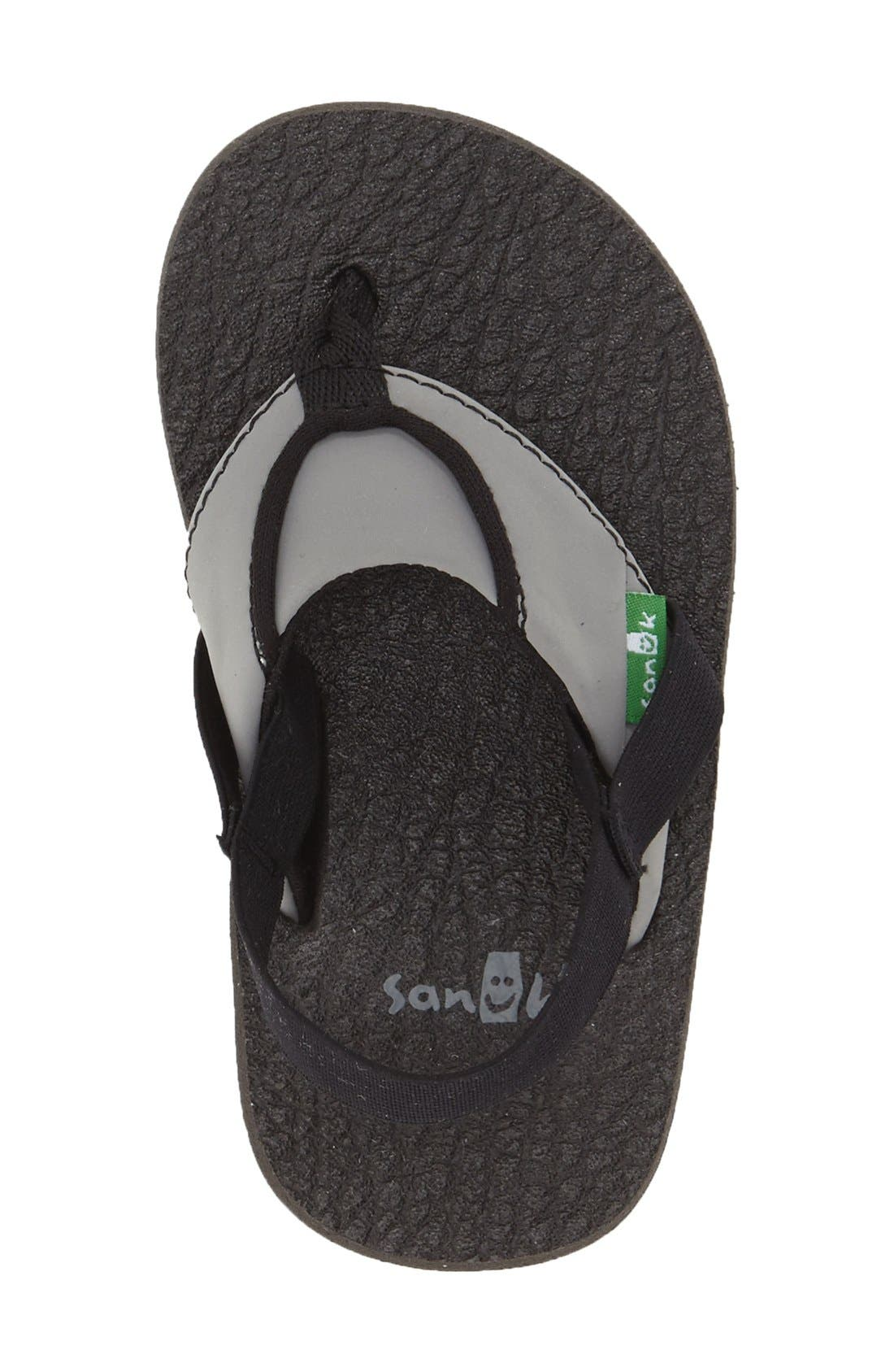 Alternate Image 3  - Sanuk 'Root Beer' Sandal (Toddler, Little Kid & Big Kid)