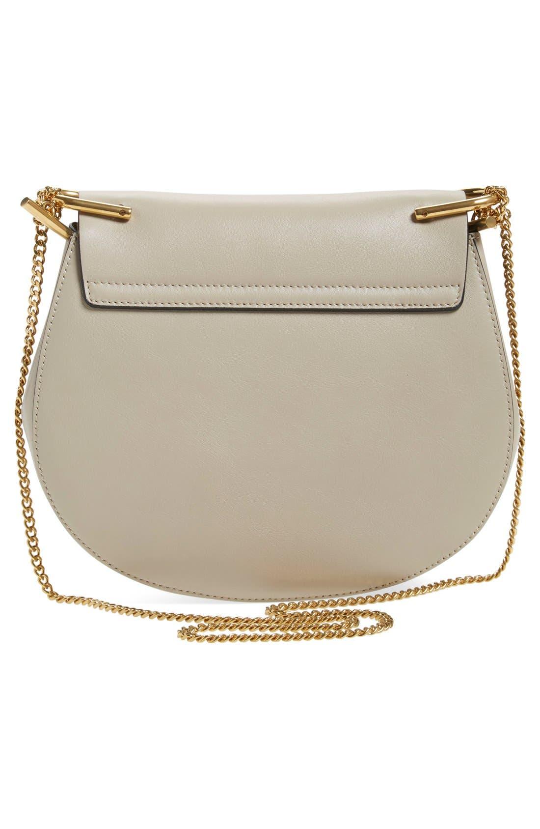 Alternate Image 2  - Chloé 'Small Drew' Suede Stripe Shoulder Bag