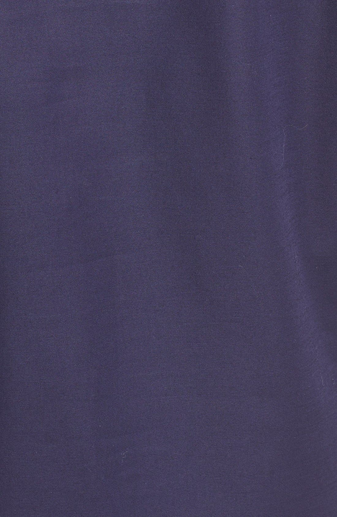 Alternate Image 5  - Nordstrom Collection Stretch Poplin Shift Dress