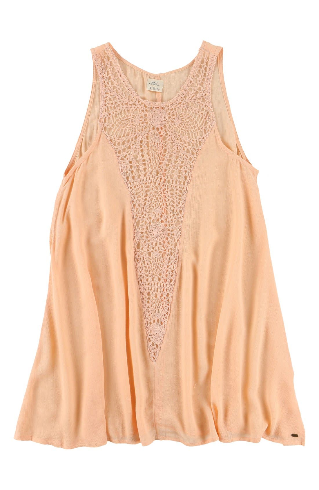 'Sophie' Cover-Up,                         Main,                         color, Soft Peach