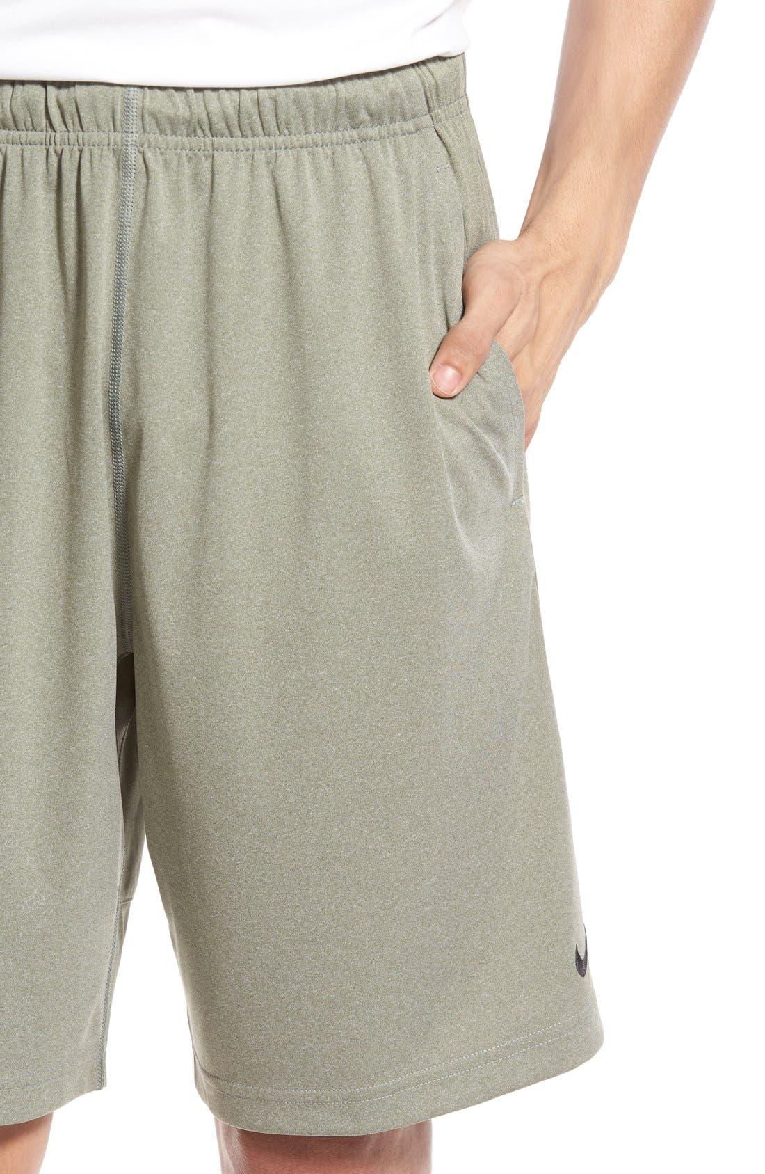 Alternate Image 4  - Nike 'Fly' Dri-FIT Training Shorts