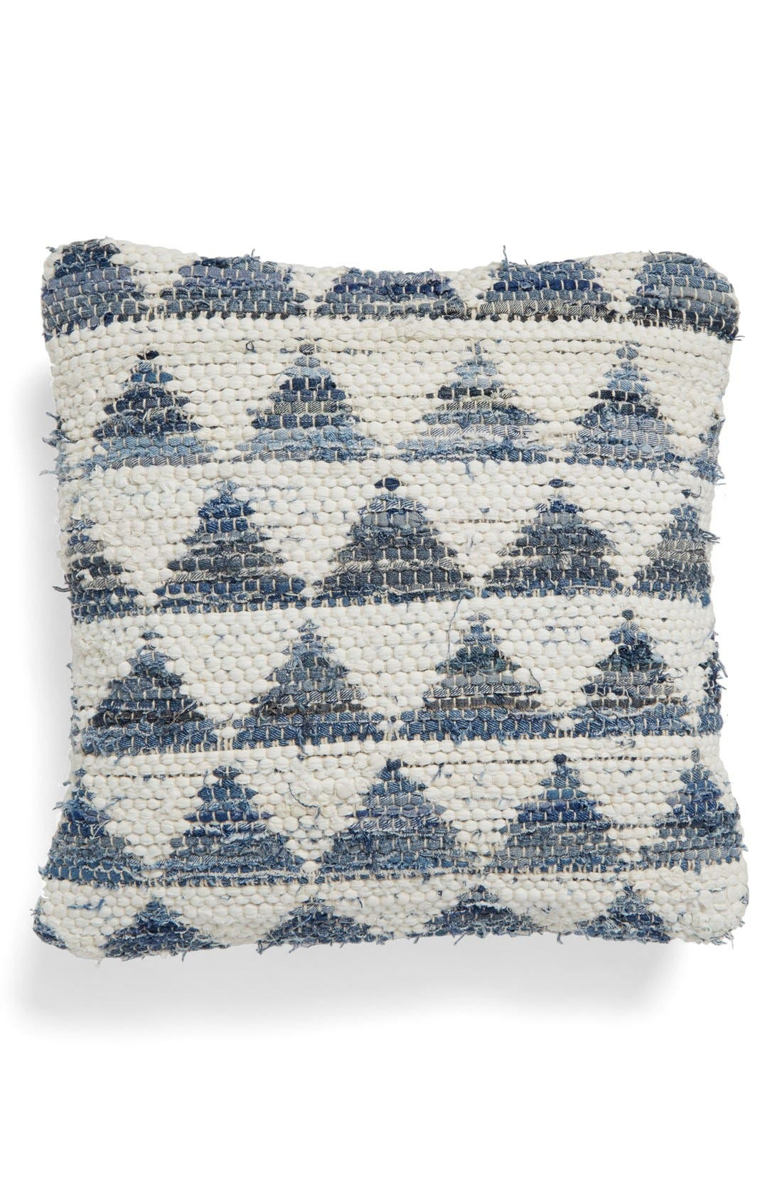 Alternate Image 1 Selected - Brentwood Originals 'Denim Pyramids' Pillow