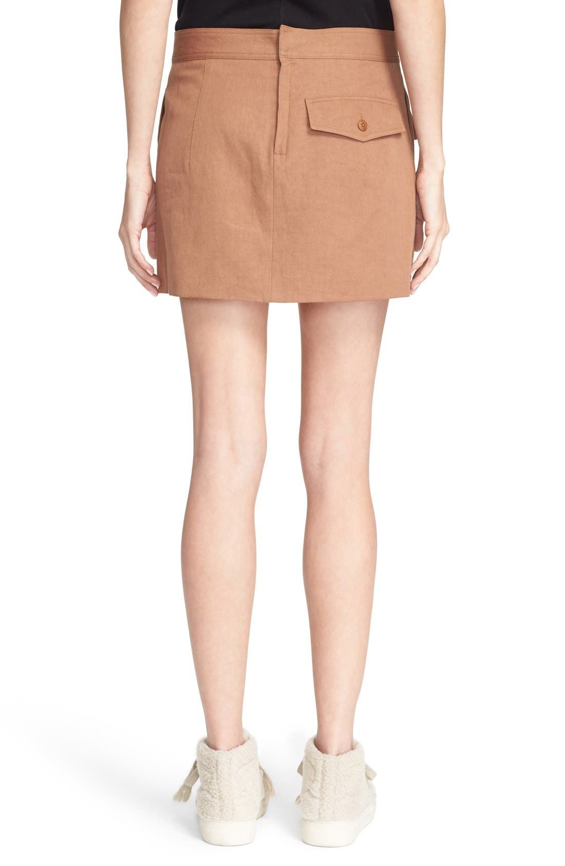 Alternate Image 3  - Helmut Lang Double Pocket Miniskirt
