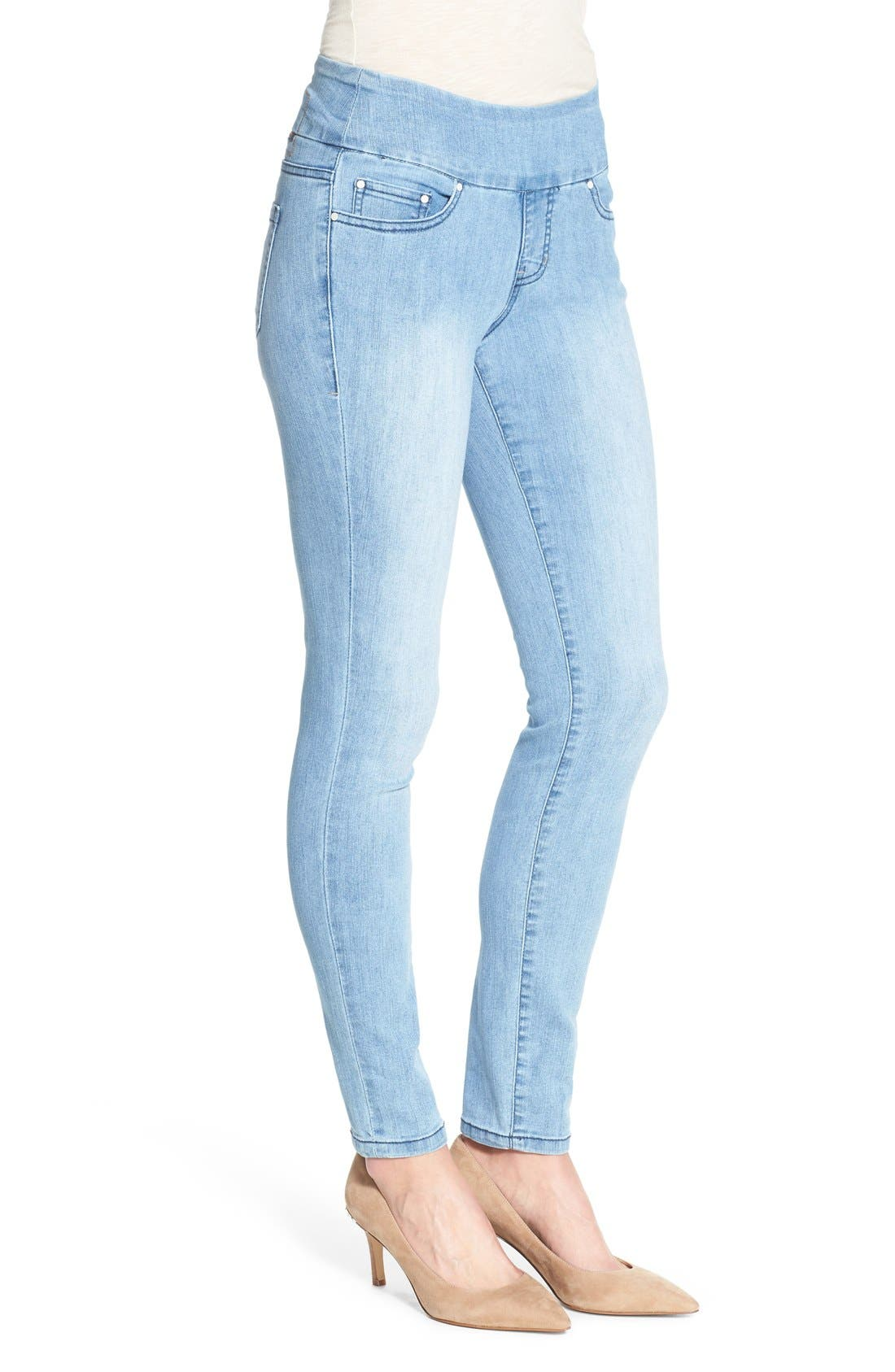 Alternate Image 3  - Jag Jeans 'Nora' Pull-On Stretch Skinny Jeans (Southern Sky)