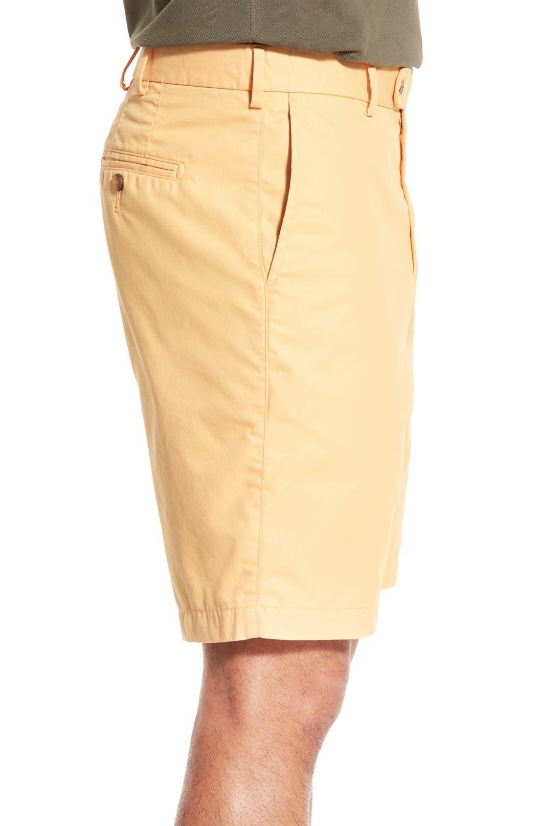 Alternate Image 3  - Peter Millar Pima Cotton Twill Shorts