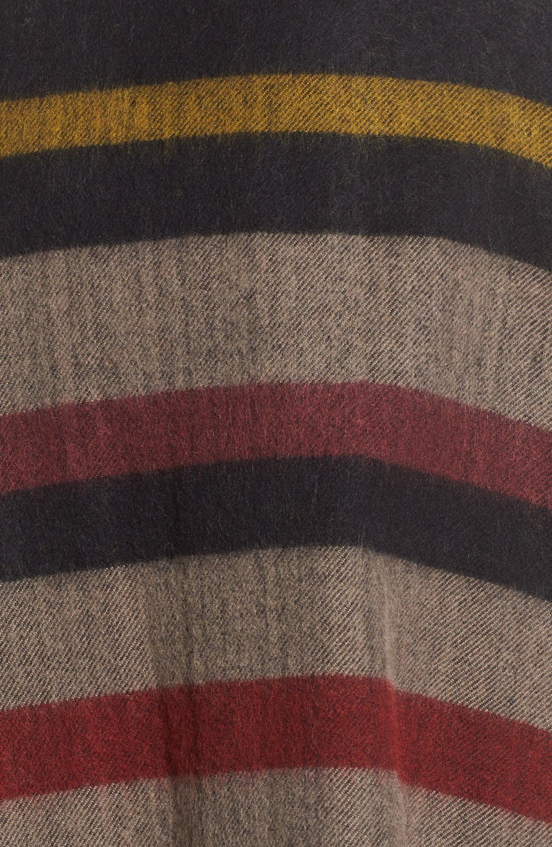 Alternate Image 5  - Treasure&Bond Fringed Stripe Poncho