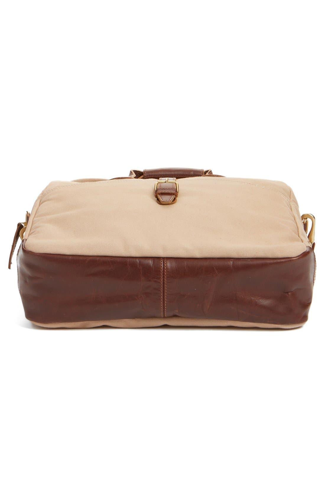 'Lakeland' Laptop Bag,                             Alternate thumbnail 7, color,                             Tan