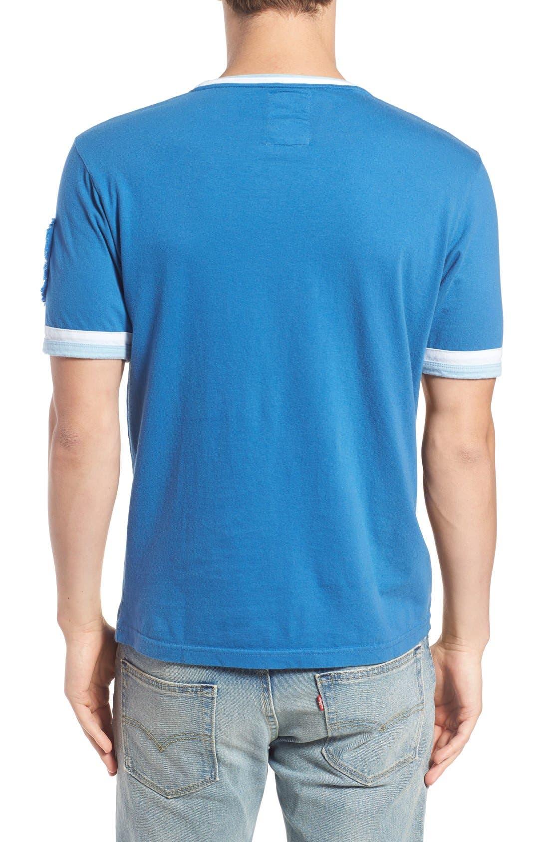 Alternate Image 2  - Red Jacket 'Kansas City Royals - Remote Control' Trim Fit T-Shirt