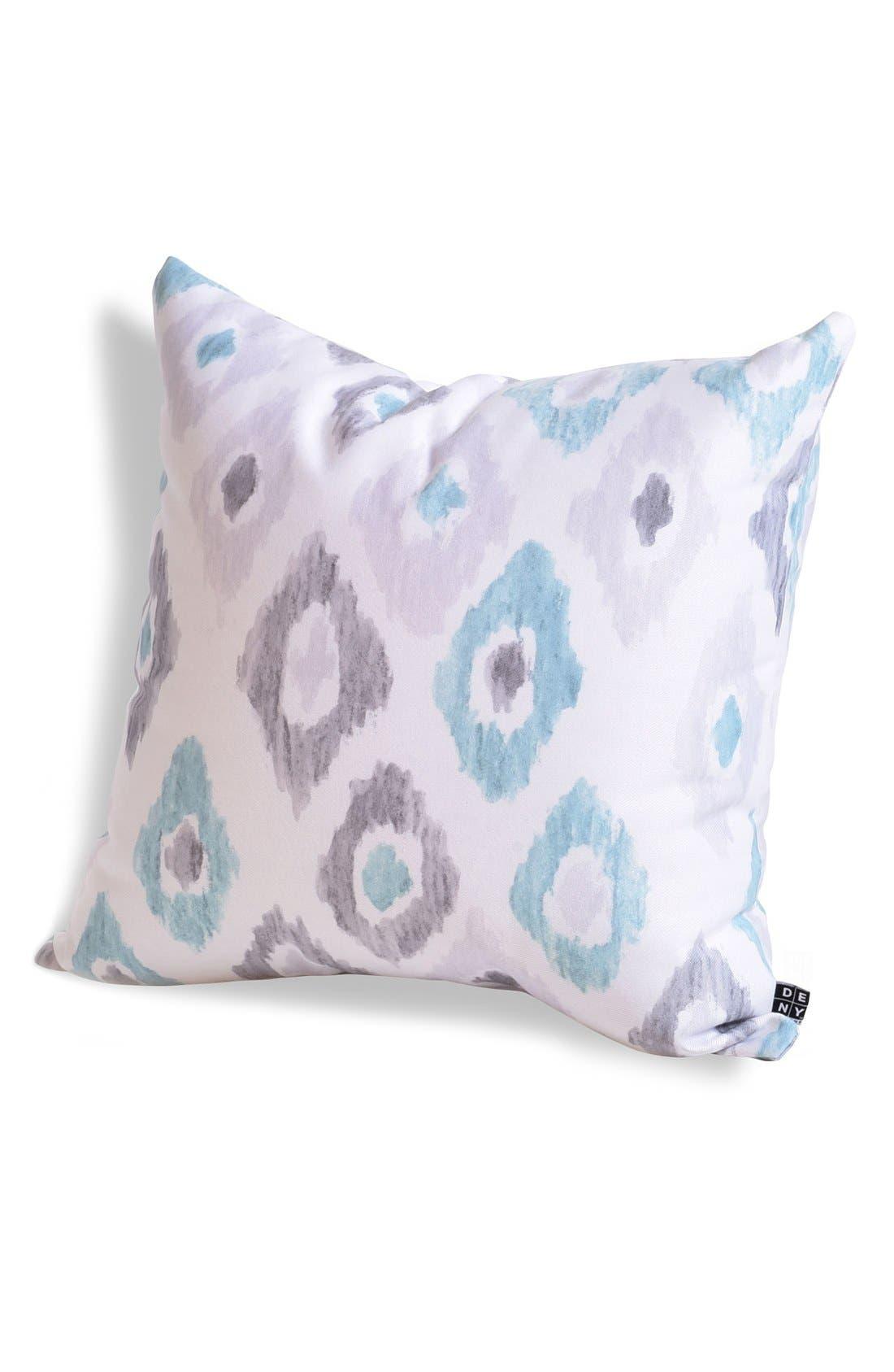 'Social Proper Ikat' Pillow,                         Main,                         color, Grey/ Multi