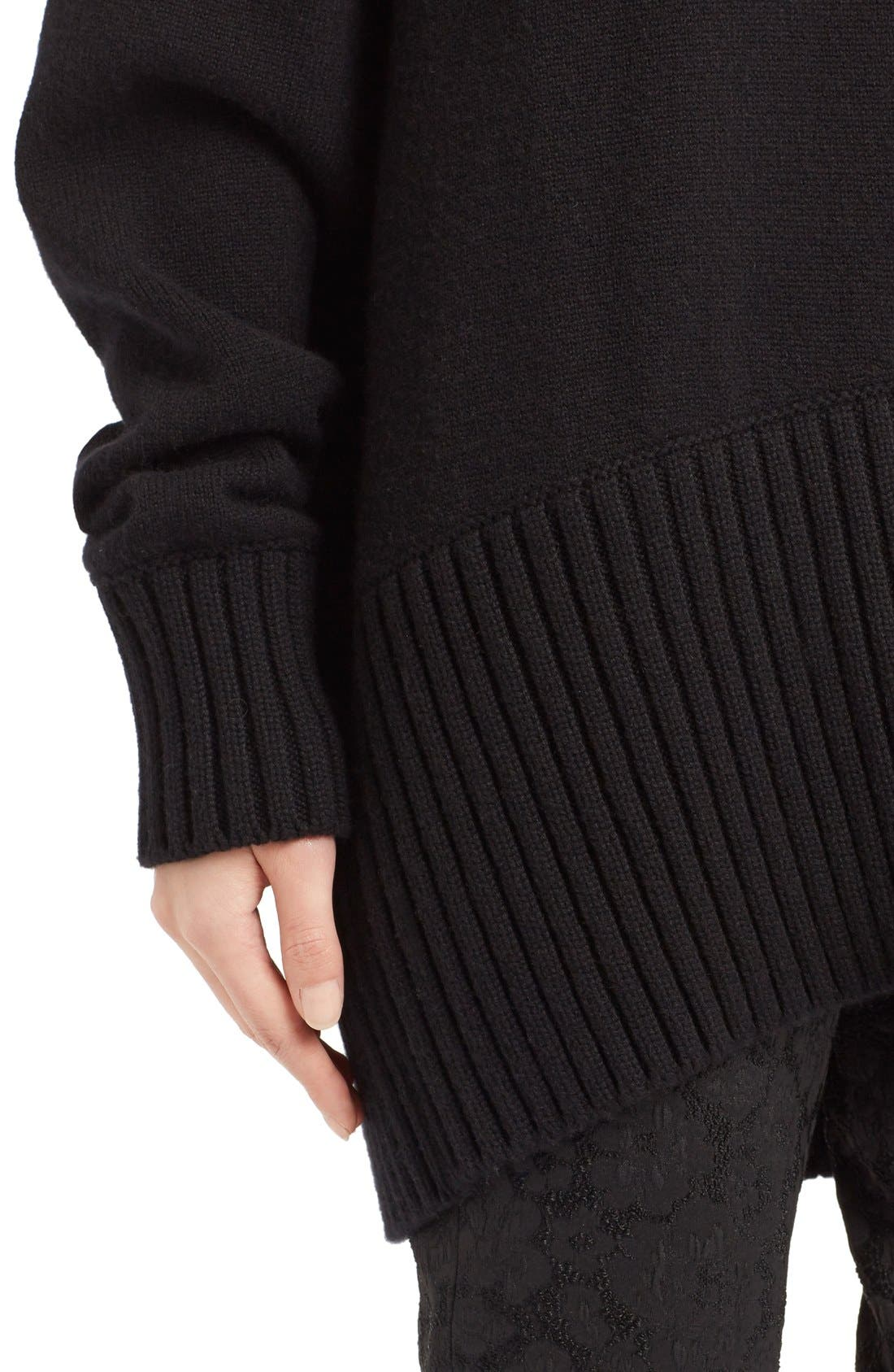 Alternate Image 5  - Dolce&Gabbana Turtleneck Cashmere Sweater