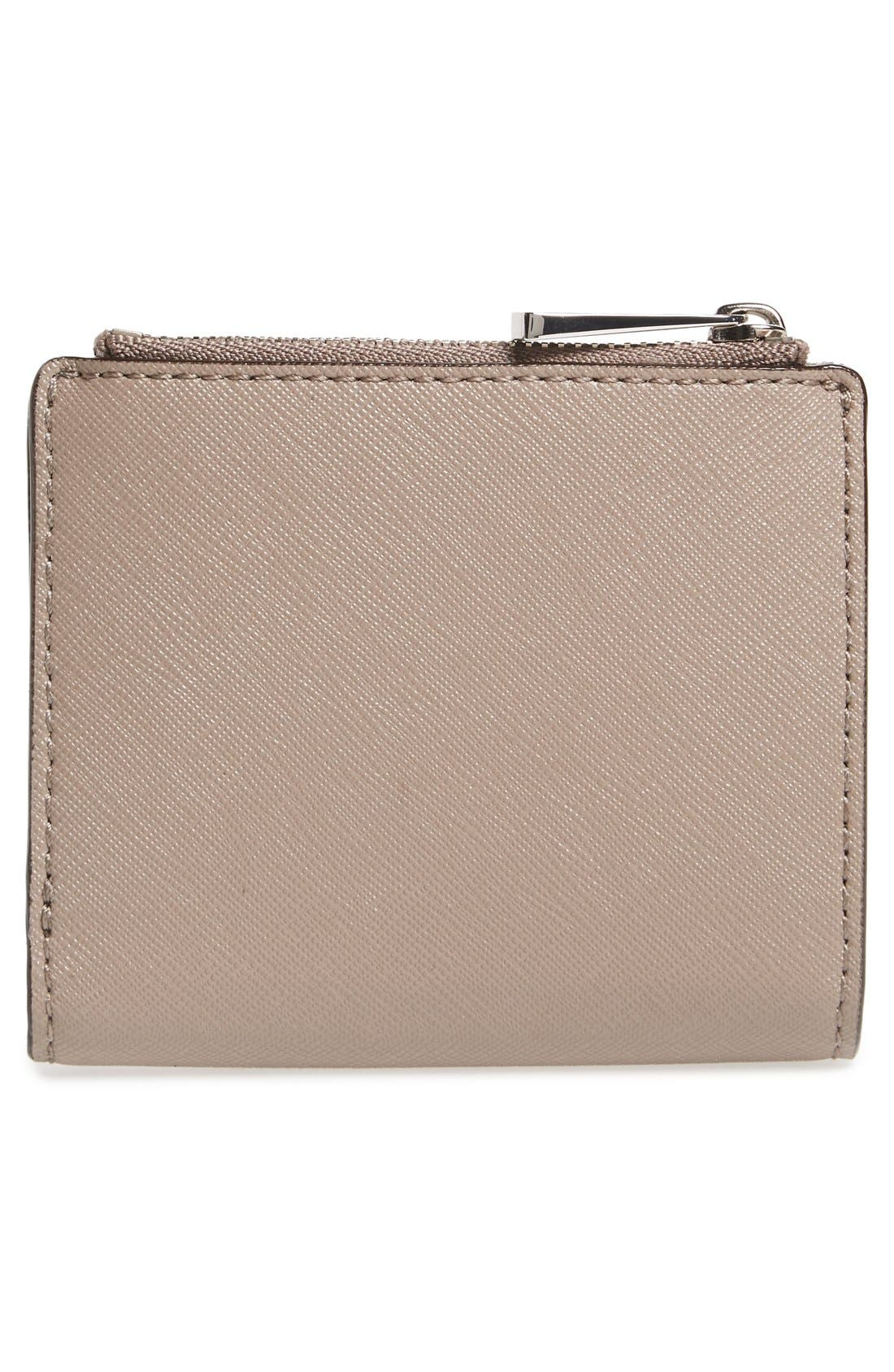 Alternate Image 4  - Tory Burch 'Mini Robinson' Leather Wallet
