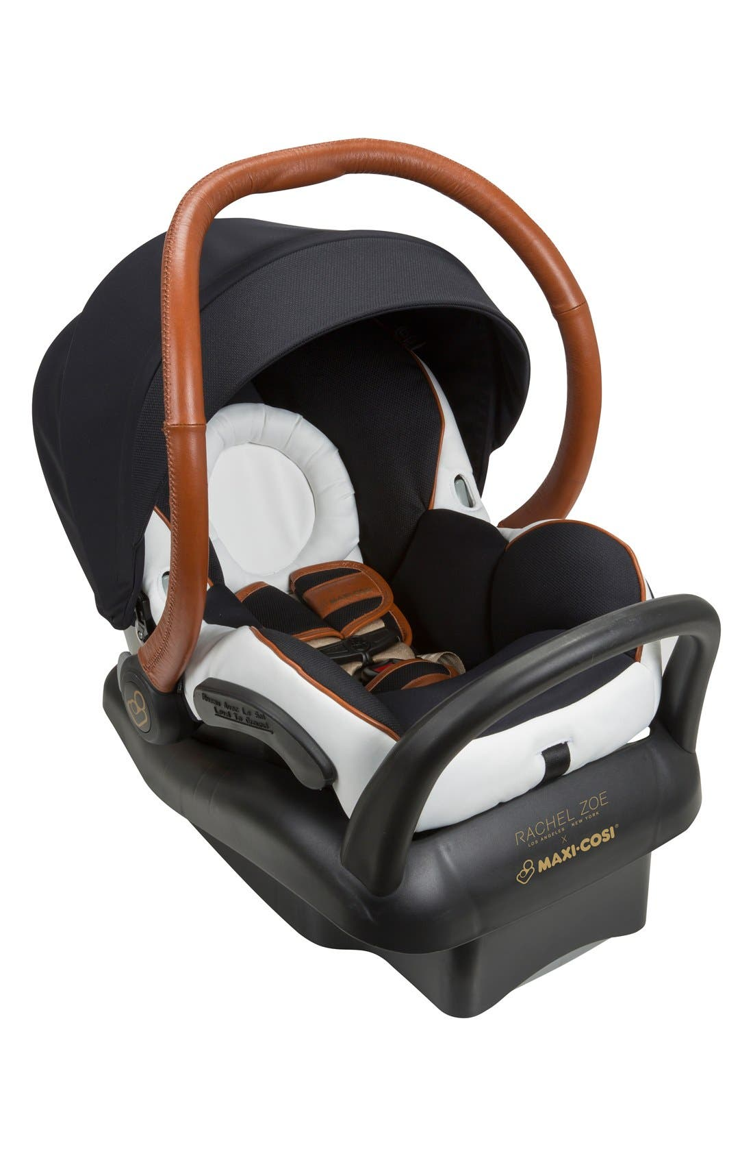 x Rachel Zoe Mico Max 30 - Special Edition Infant Car Seat,                             Alternate thumbnail 8, color,                             Black/ White