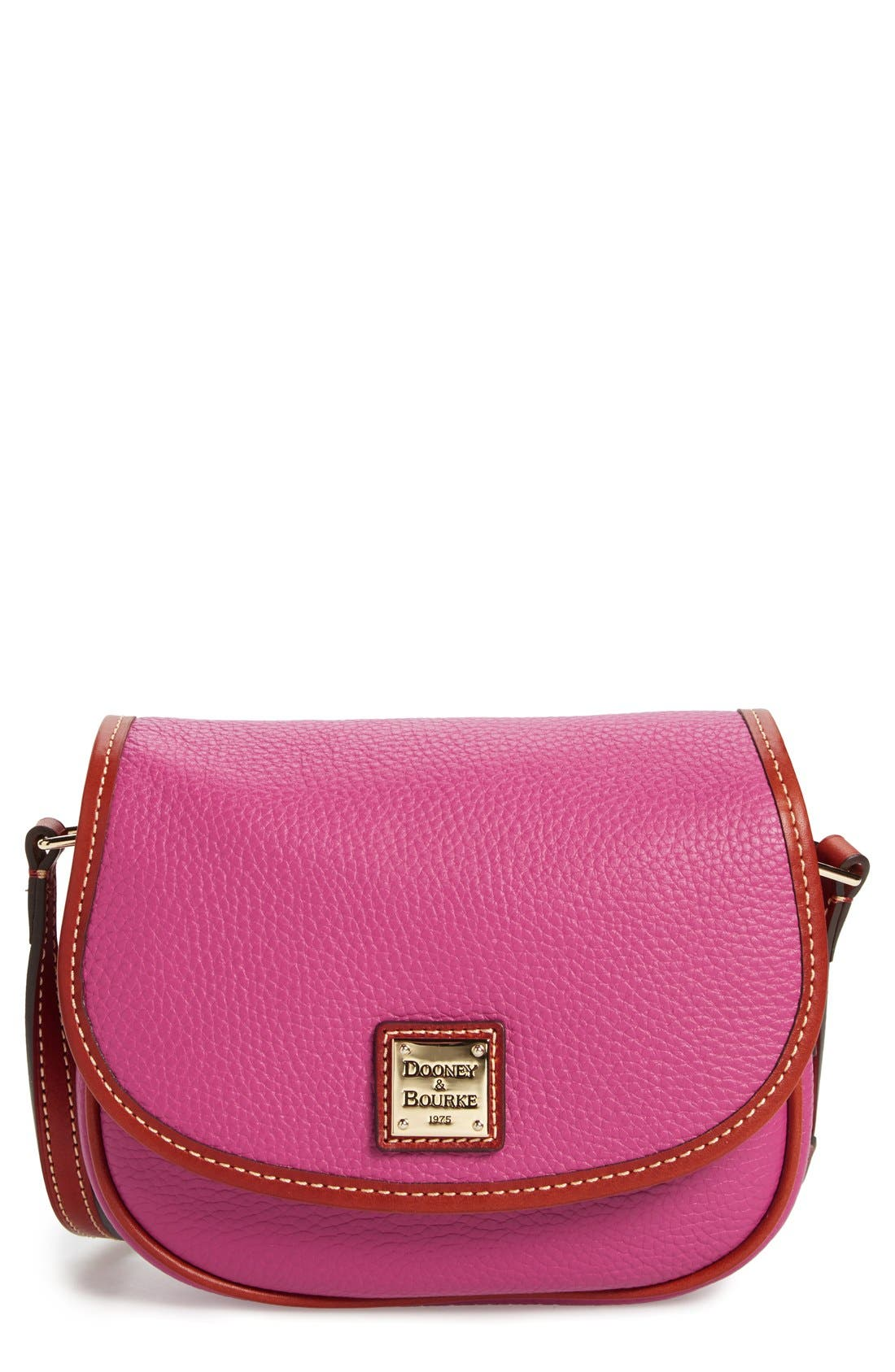 Alternate Image 1 Selected - Dooney & Bourke 'Hallie' Leather Crossbody Bag