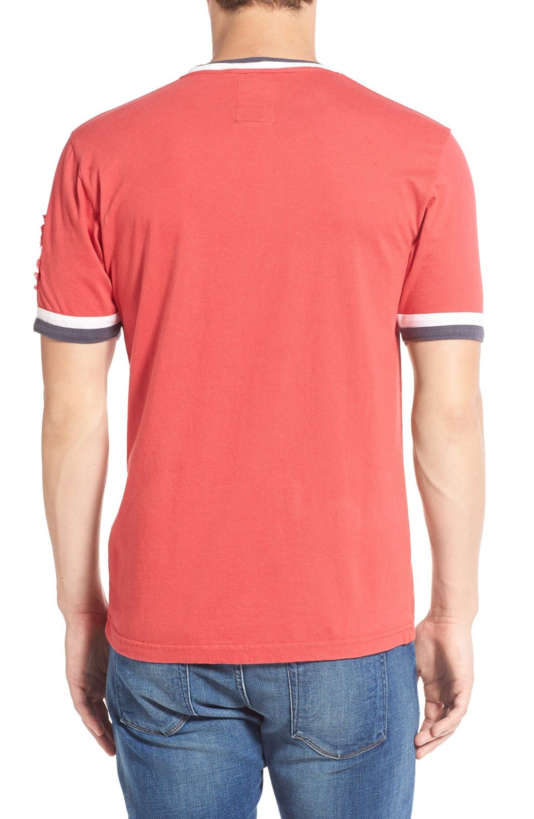 Alternate Image 2  - Red Jacket 'Saint Louis Cardinals - Remote Control' Trim Fit T-Shirt