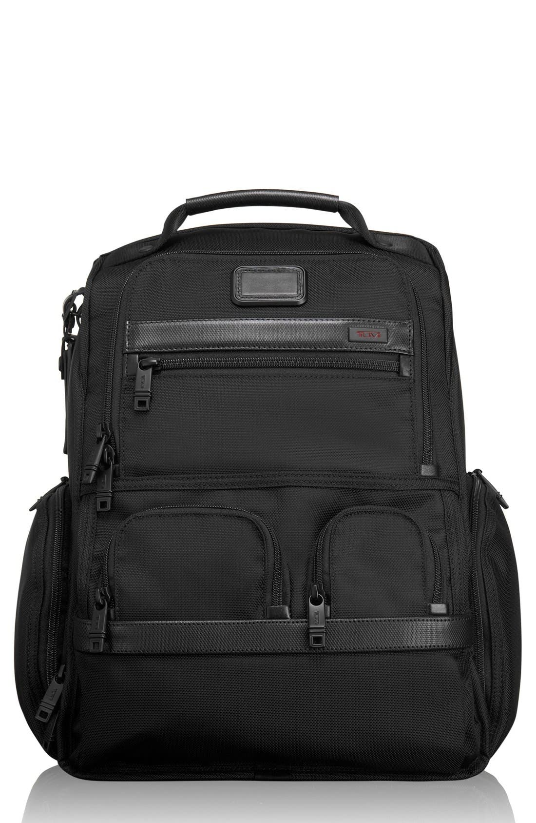 Alpha 2 Compact Laptop Brief Pack<sup>®</sup>,                         Main,                         color, Black