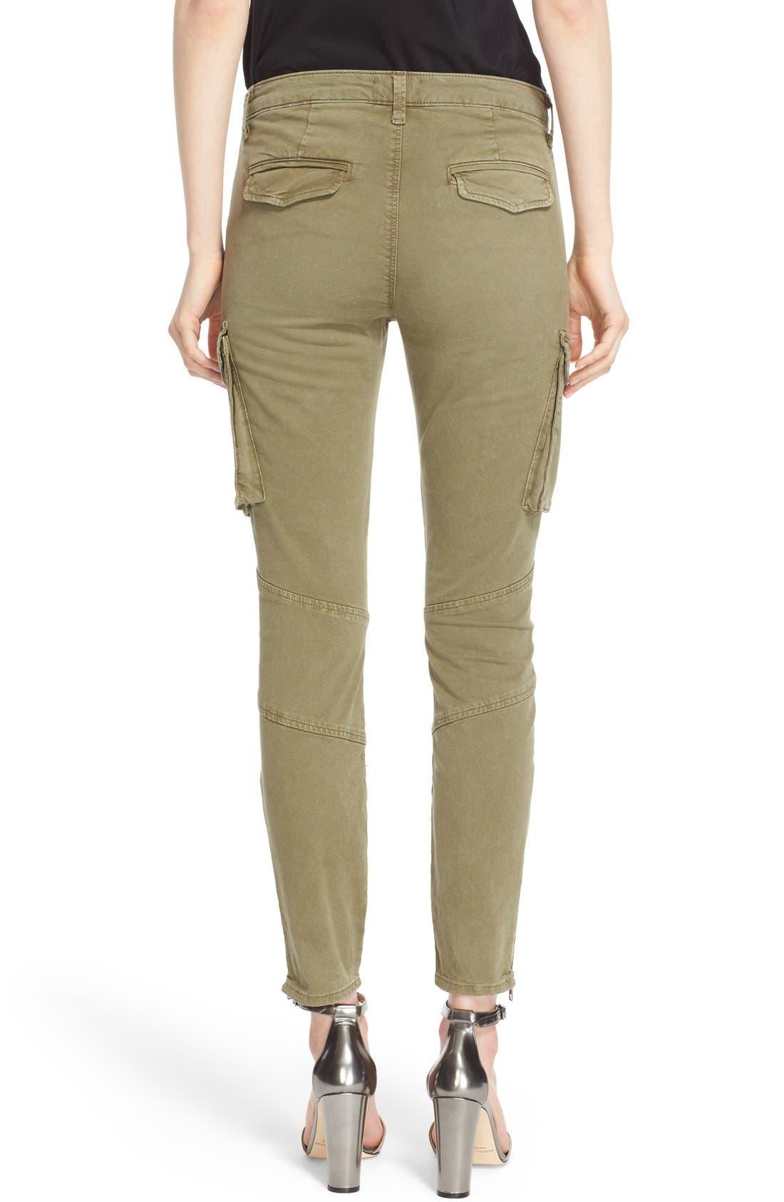 Alternate Image 2  - L'AGENCE Skinny Cargo Pants