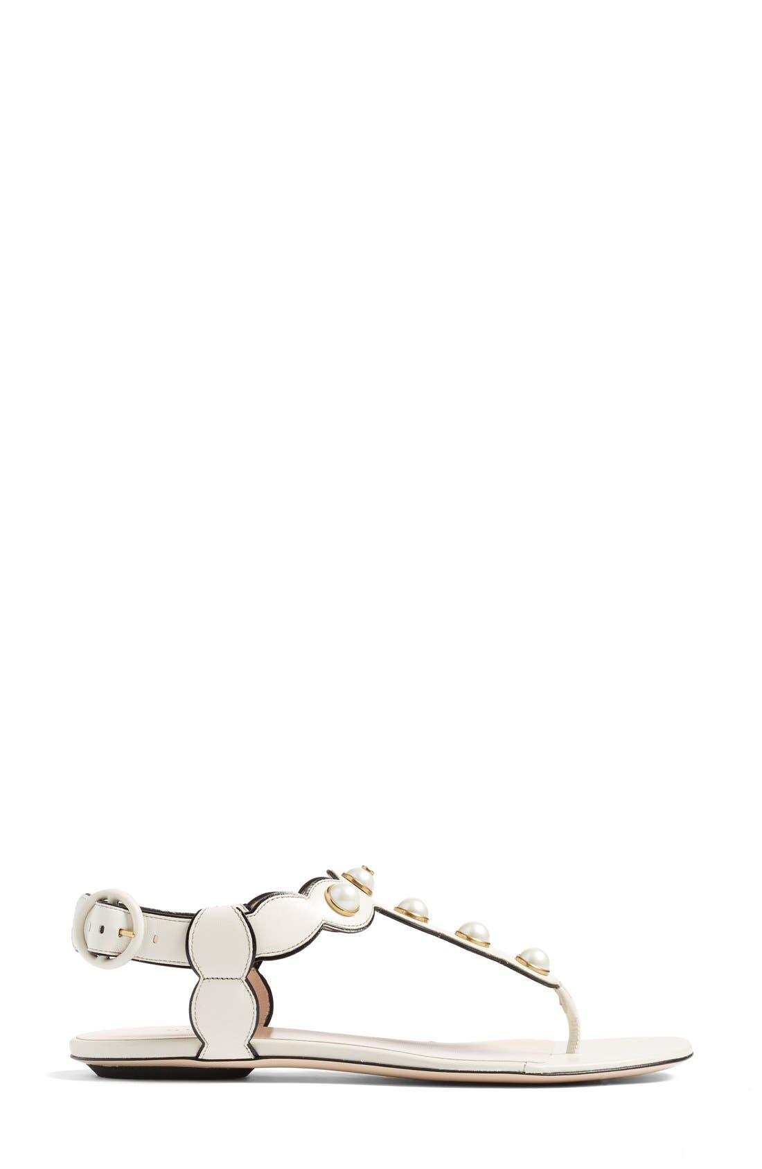 Alternate Image 4  - Gucci 'Willow' Thong Sandal (Women)