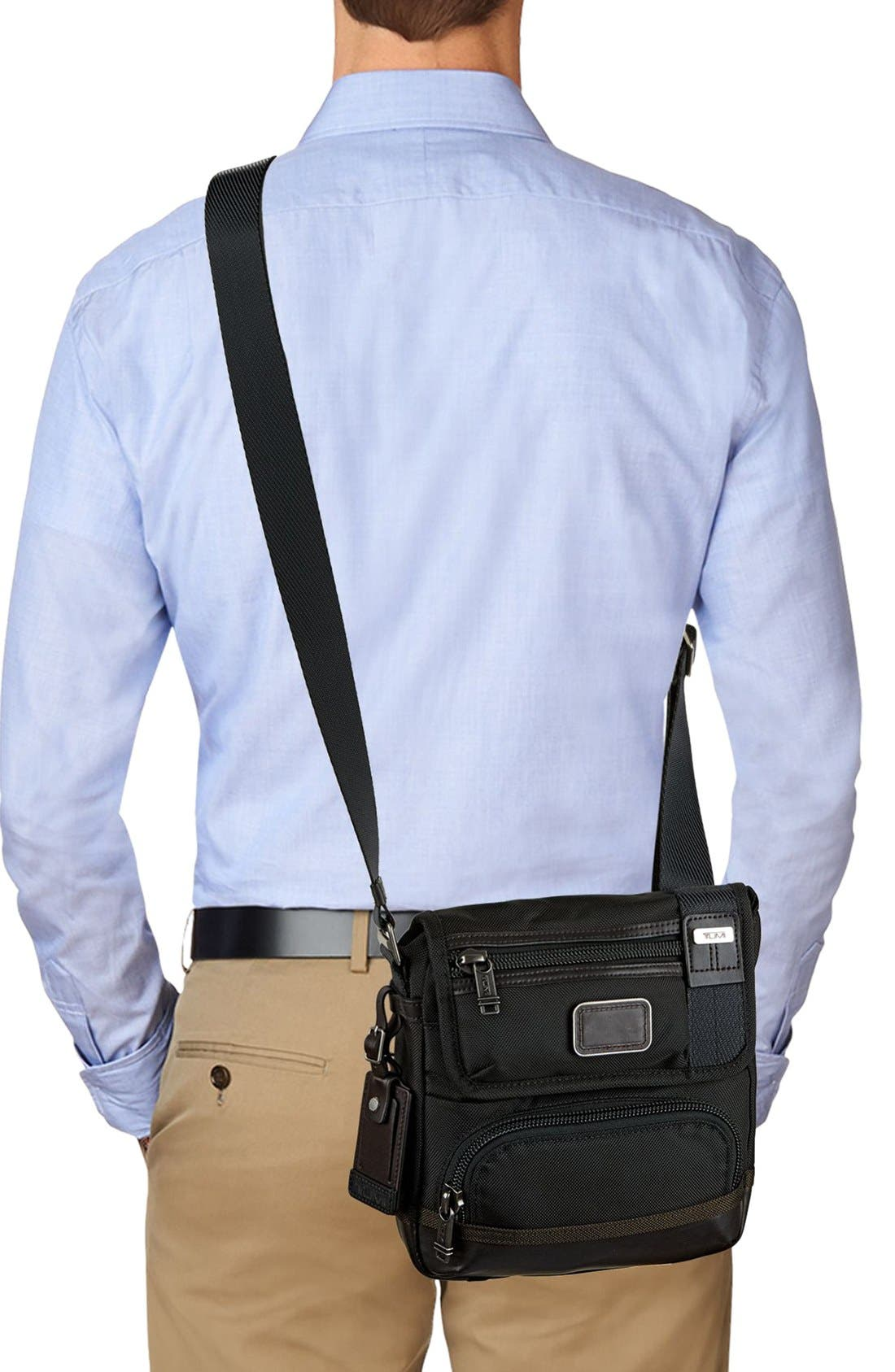 'Alpha Bravo - Barstow' Crossbody Bag,                             Alternate thumbnail 2, color,                             Hickory Black