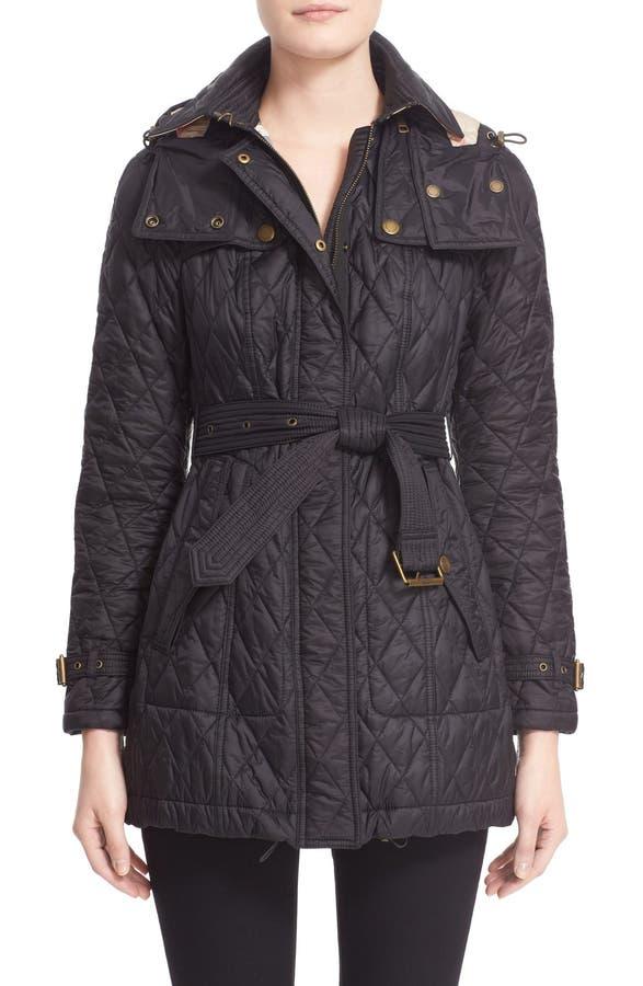 Burberry Finsbridge Belted Quilted Jacket | Nordstrom : quilted burberry coat - Adamdwight.com