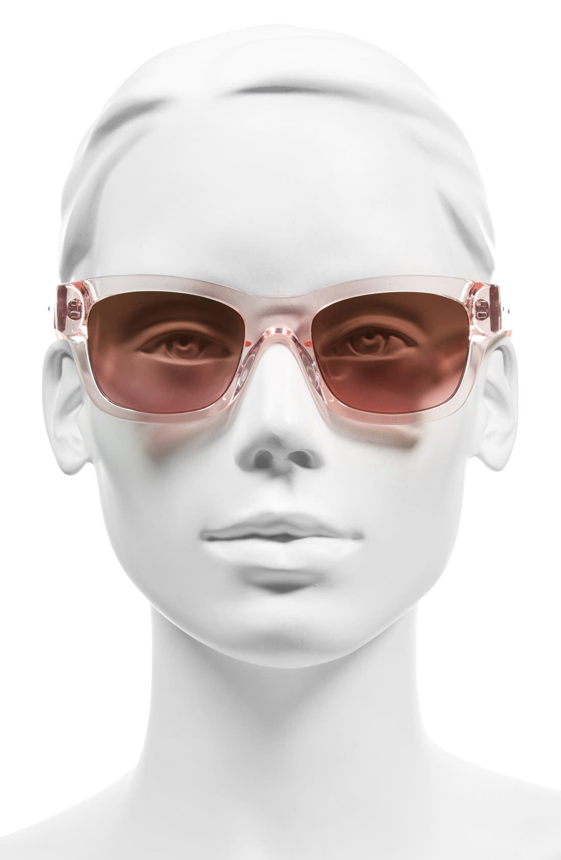 'The Ellie' 51mm Sunglasses,                             Alternate thumbnail 2, color,                             Pink