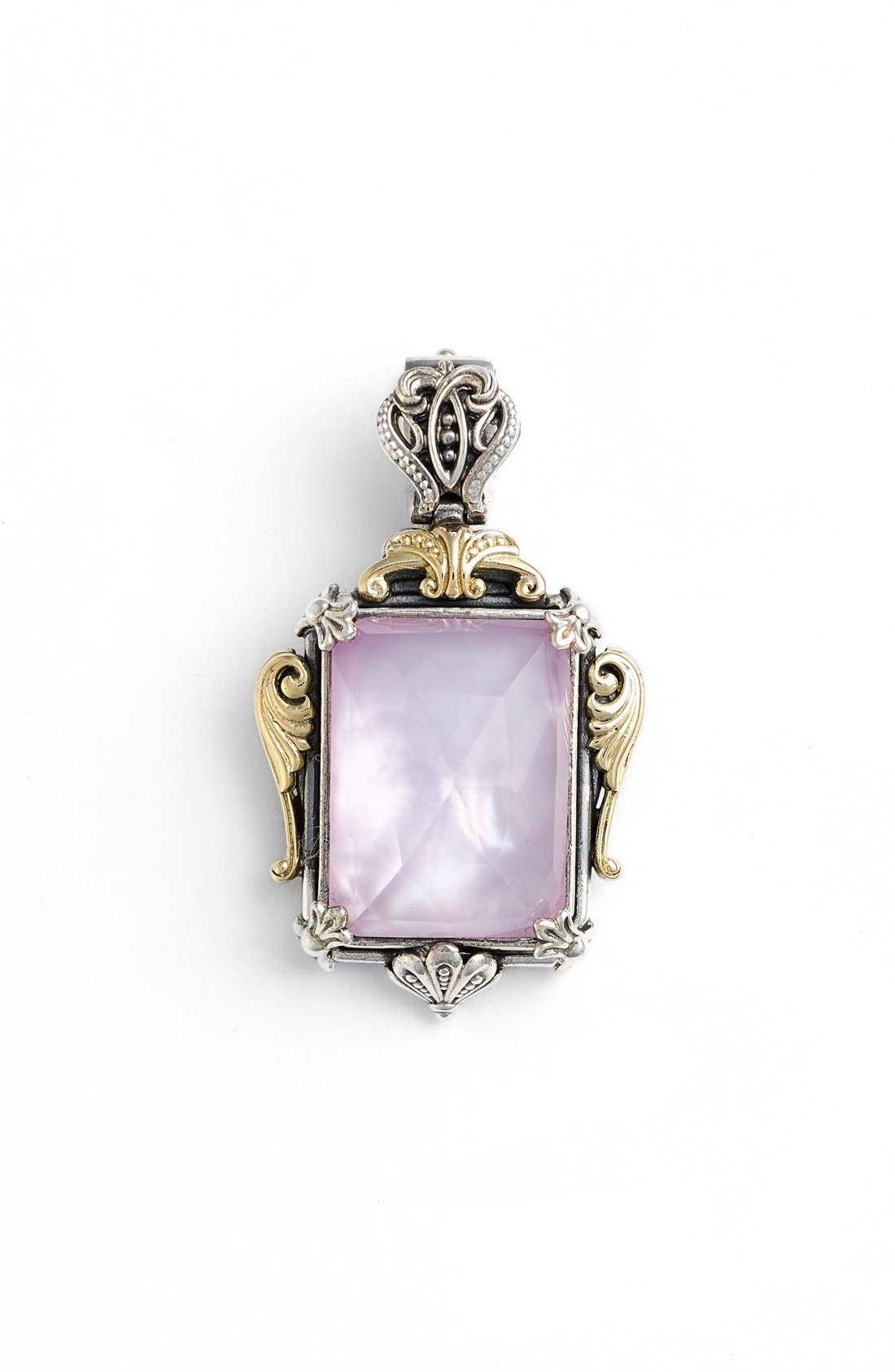 KONSTANTINO Iliada Rectangle Pendant