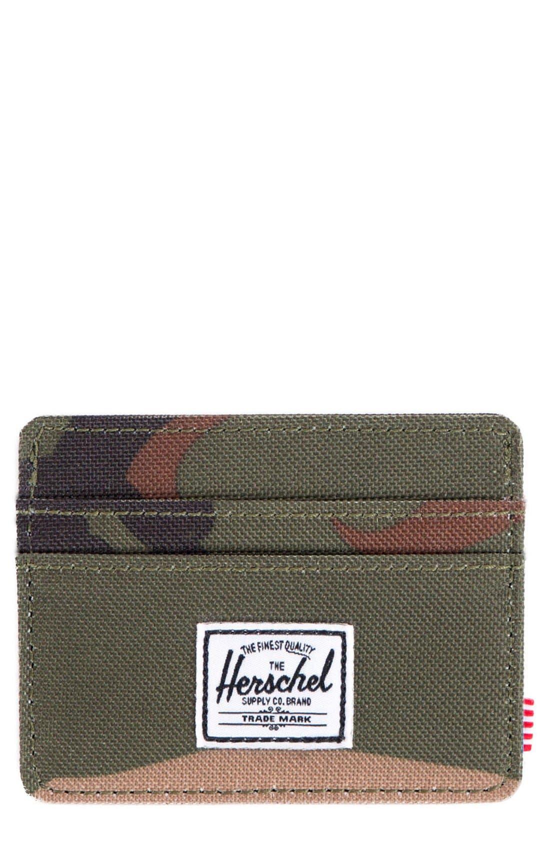 Alternate Image 1 Selected - Herschel Supply Co. 'Charlie' Card Case