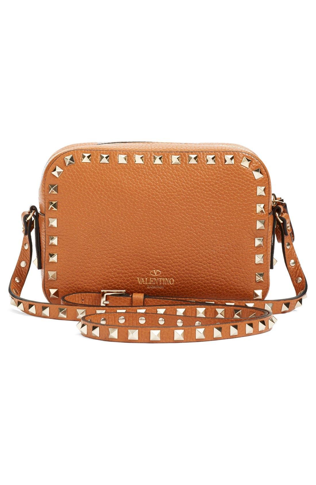 Alternate Image 3  - Valentino 'Rockstud - Alce' Calfskin Leather Camera Crossbody Bag