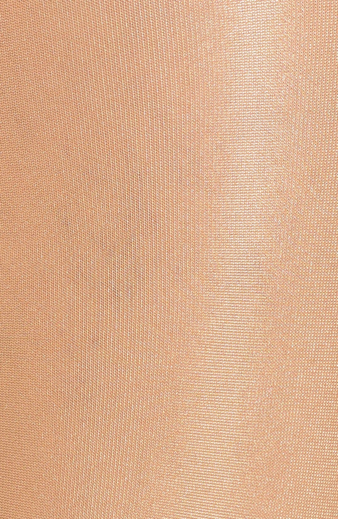'Neon 40' Pantyhose,                             Alternate thumbnail 3, color,                             Gobi