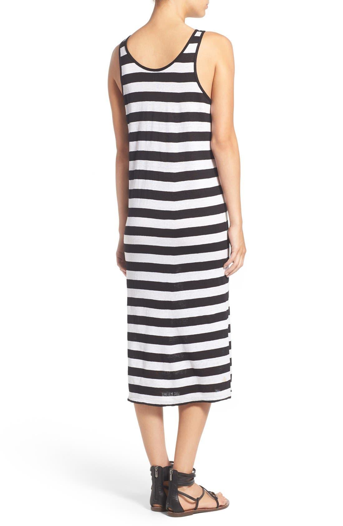 Alternate Image 2  - Joe's 'Weekend' Stripe Linen Midi Dress