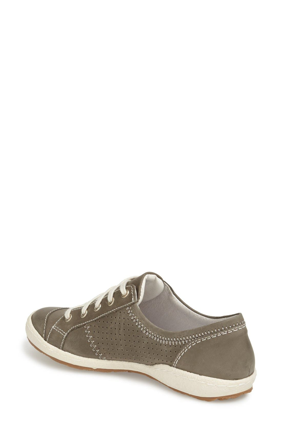 'Caspian' Sneaker,                             Alternate thumbnail 2, color,                             Grigio Leather
