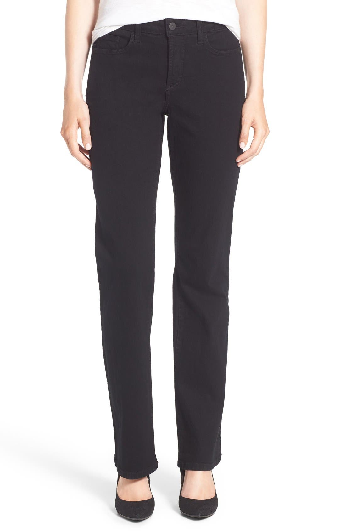 Alternate Image 1 Selected - NYDJ Barbara Stretch Bootcut Jeans (Regular & Petite)