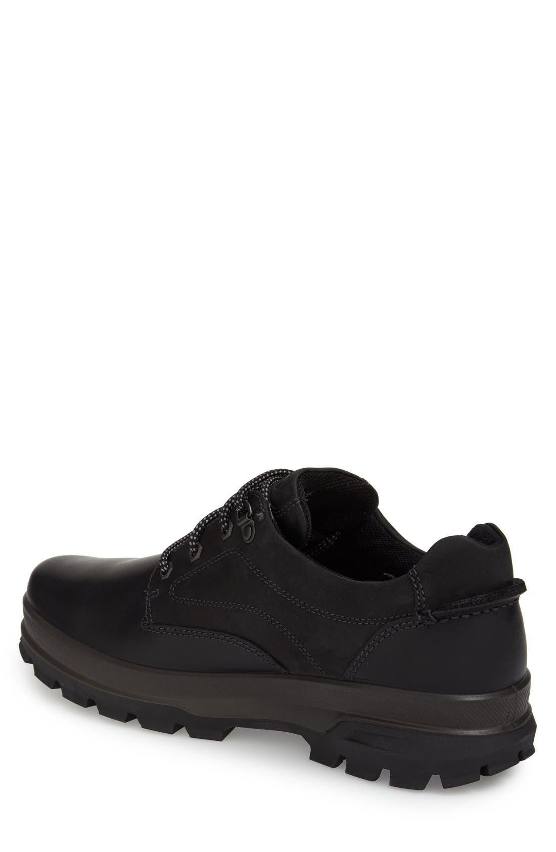 'Rugged Track GTX' Oxford,                             Alternate thumbnail 2, color,                             Black/ Black Leather