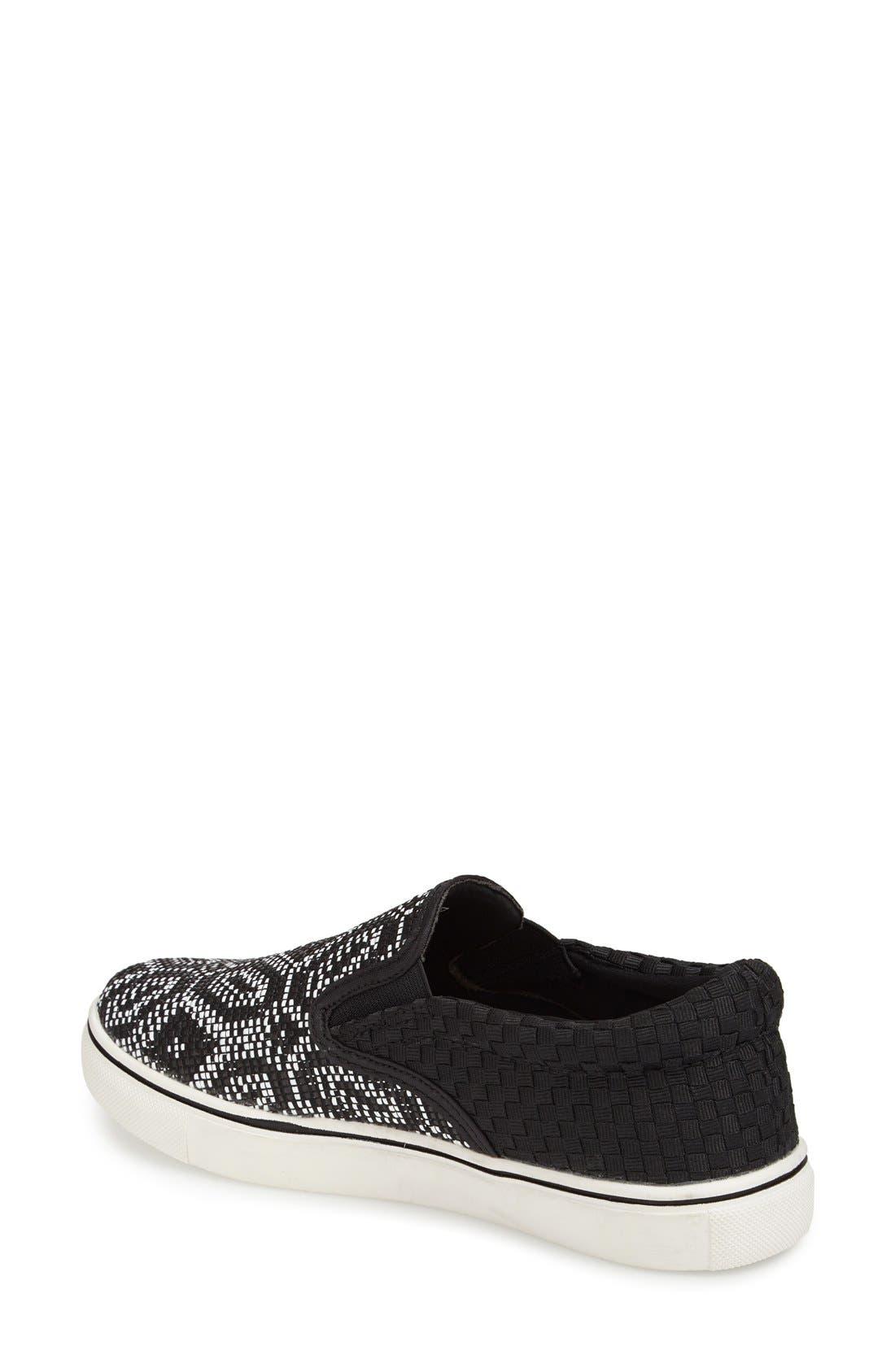 Alternate Image 2  - bernie mev. 'Blair' Slip-On Sneaker (Women)