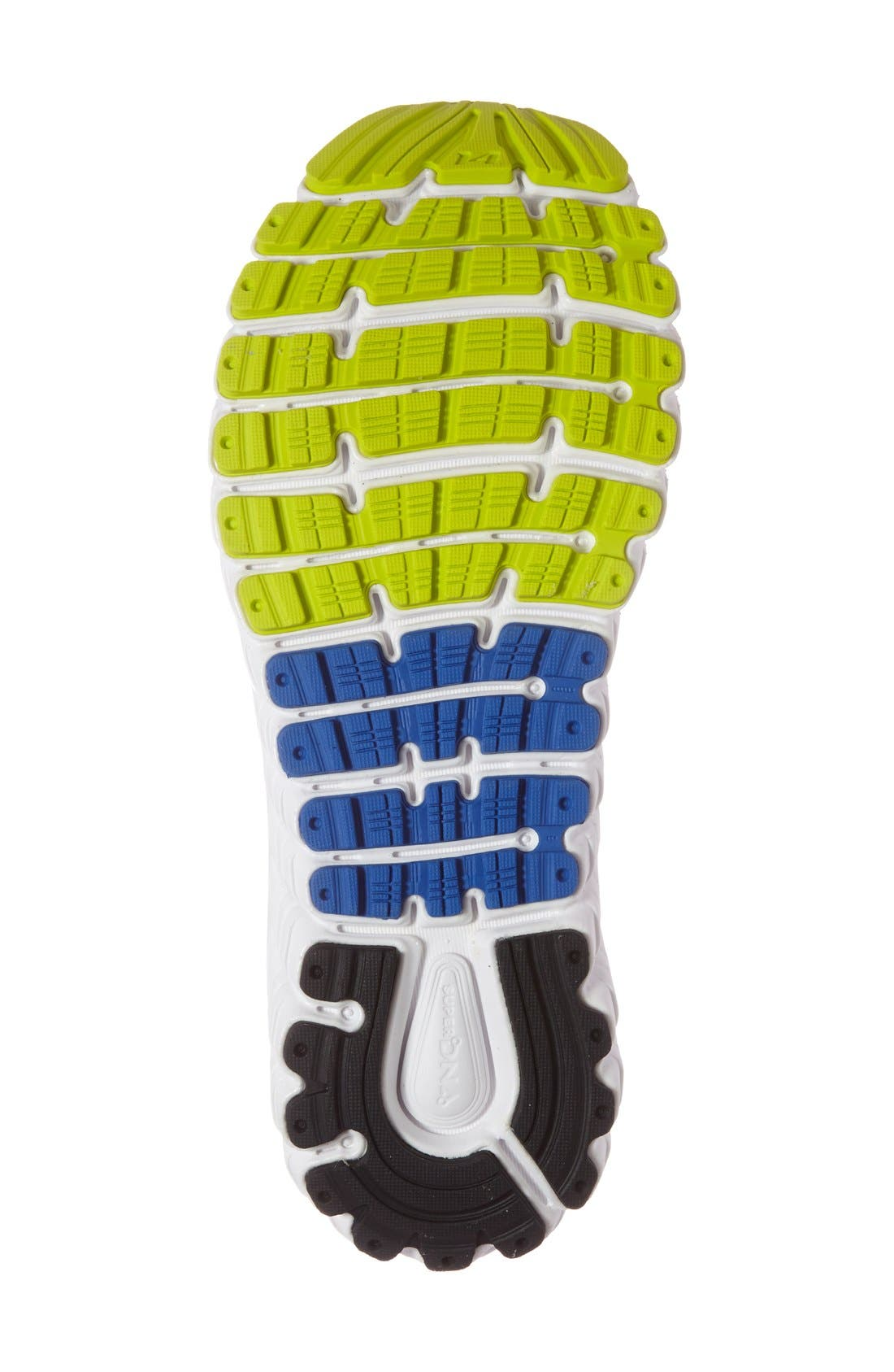 'Glycerin 14' Running Shoe,                             Alternate thumbnail 4, color,                             Electric Blue/ Black/ Punch