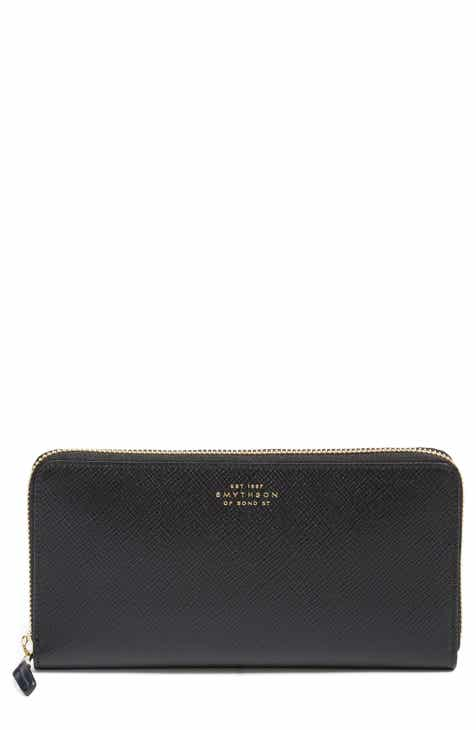 Smythson wallets card cases for women nordstrom smythson large panama zip around wallet colourmoves