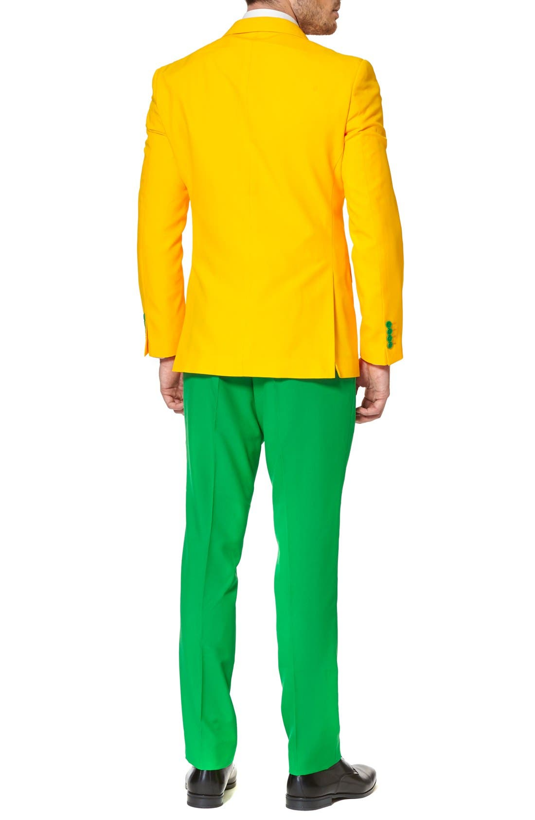 Alternate Image 2  - OppoSuits 'Green & Gold' Trim Fit Suit with Tie