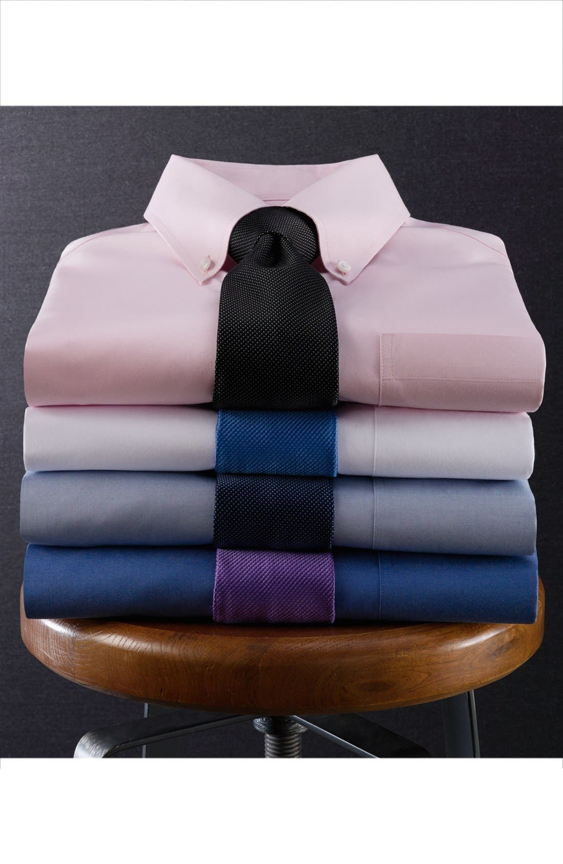 Alternate Image 3  - Nordstrom Men's Shop Smartcare™ Classic Fit Pinpoint Dress Shirt (Online Only)