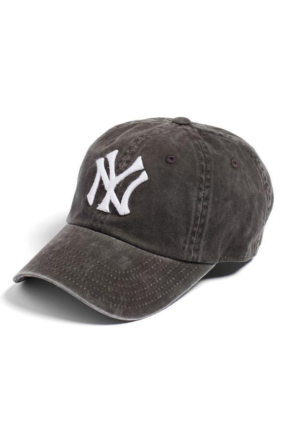 new york yankees baseball cap uk main image needle raglan online india womens