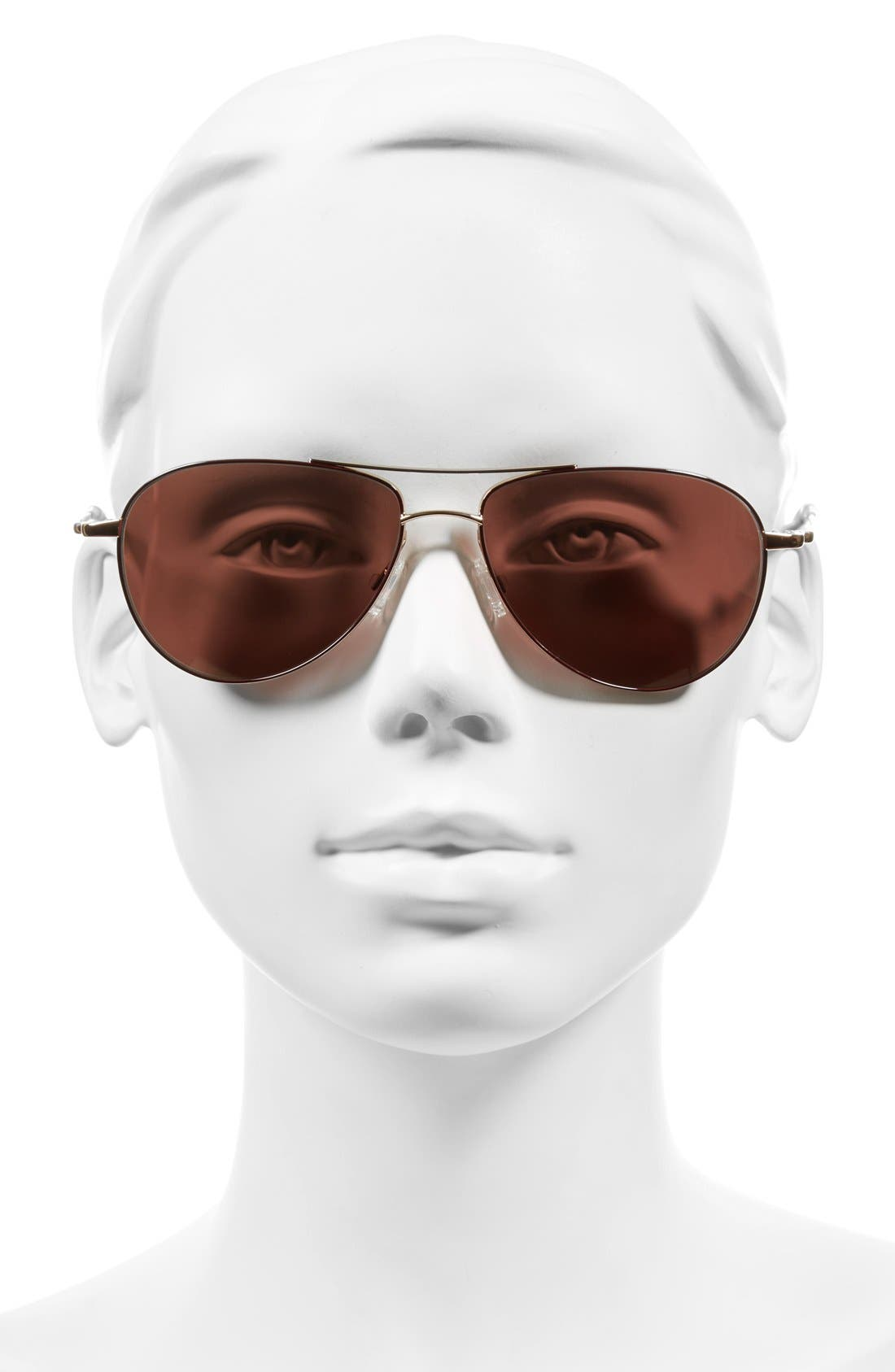 Alternate Image 2  - Oliver Peoples 'Benedict' 59mm Aviator Sunglasses