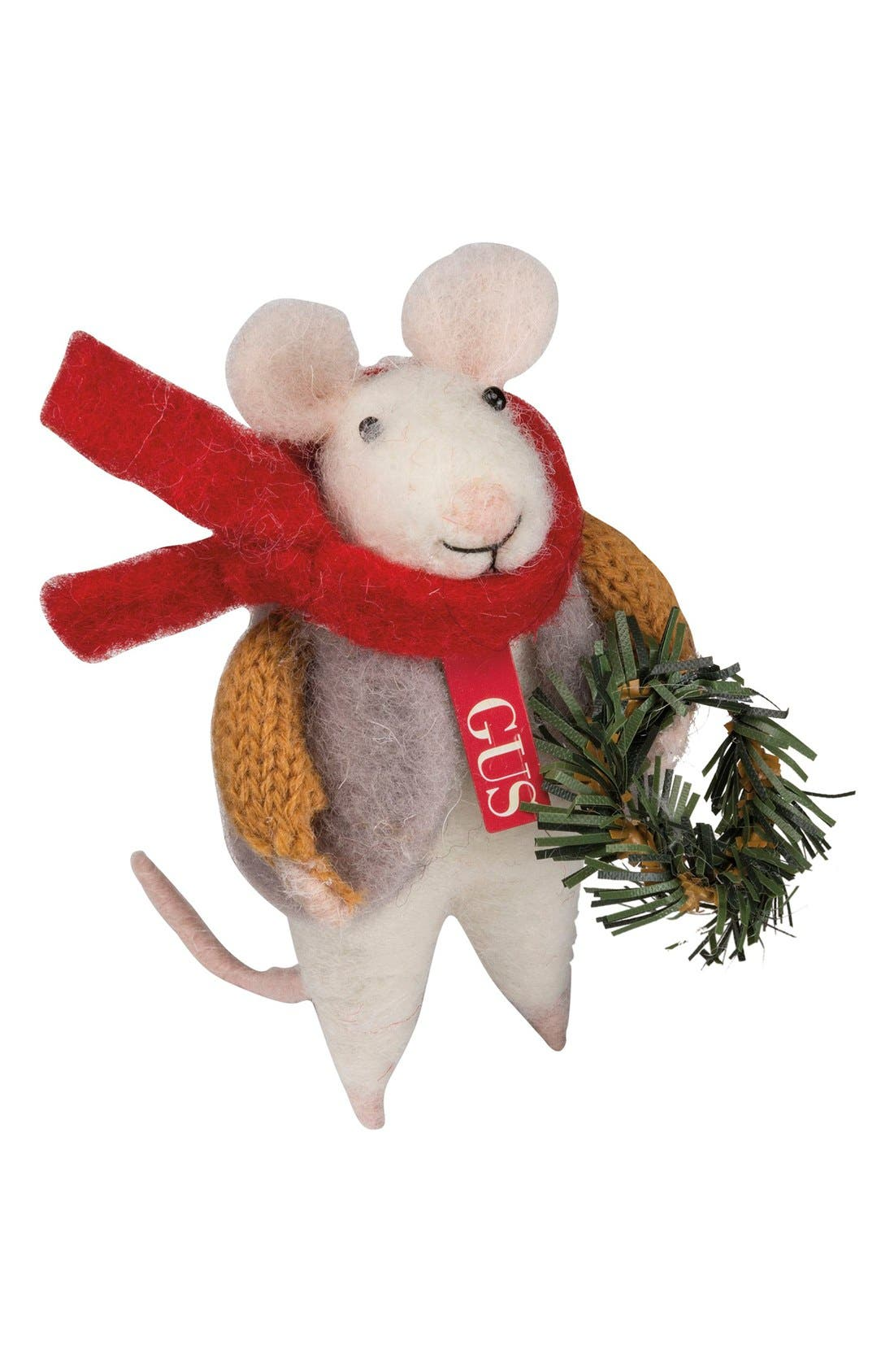 Primitives by Kathy Holiday Mouse Figurine