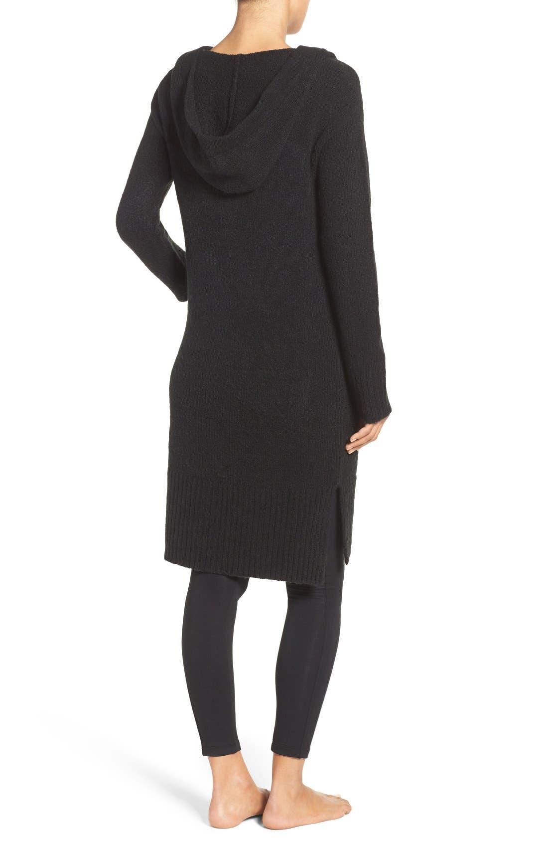 Alternate Image 2  - UGG® 'Judith' Hooded Knit Cardigan