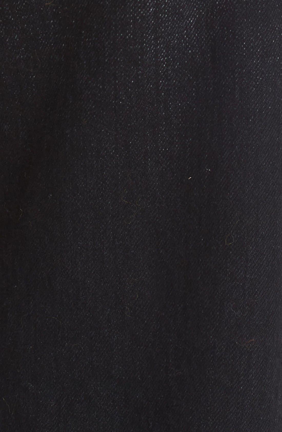 Alternate Image 3  - Simon Miller Wide Leg Jeans (Black)