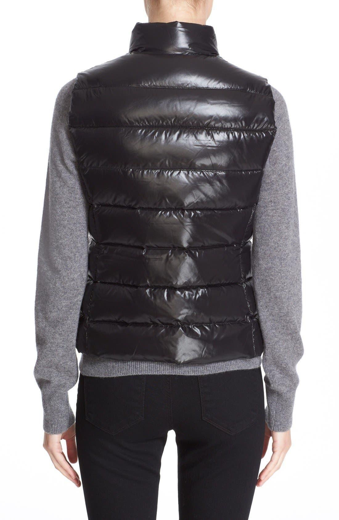 Alternate Image 2  - Moncler Ghany Water Resistant Shiny Nylon Down Puffer Vest