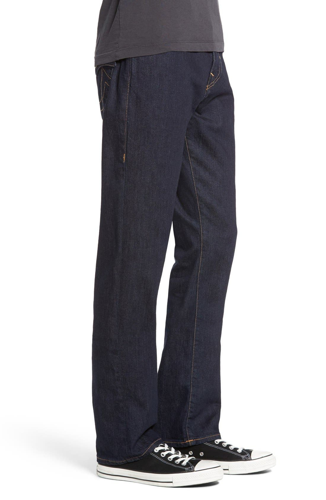 Alternate Image 3  - True Religion Brand Jeans Ricky Relaxed Fit Jeans (2S Body Rinse)