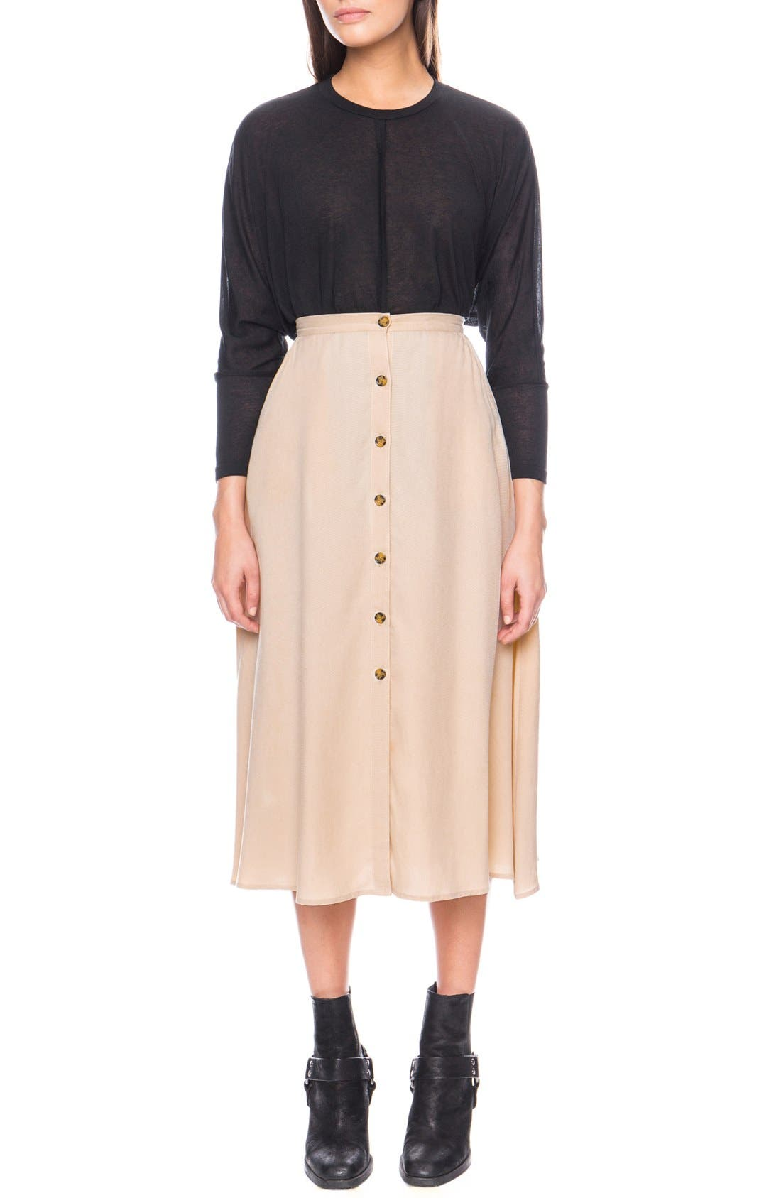 Alternate Image 1 Selected - The Fifth Label 'Born Free' Midi Skirt
