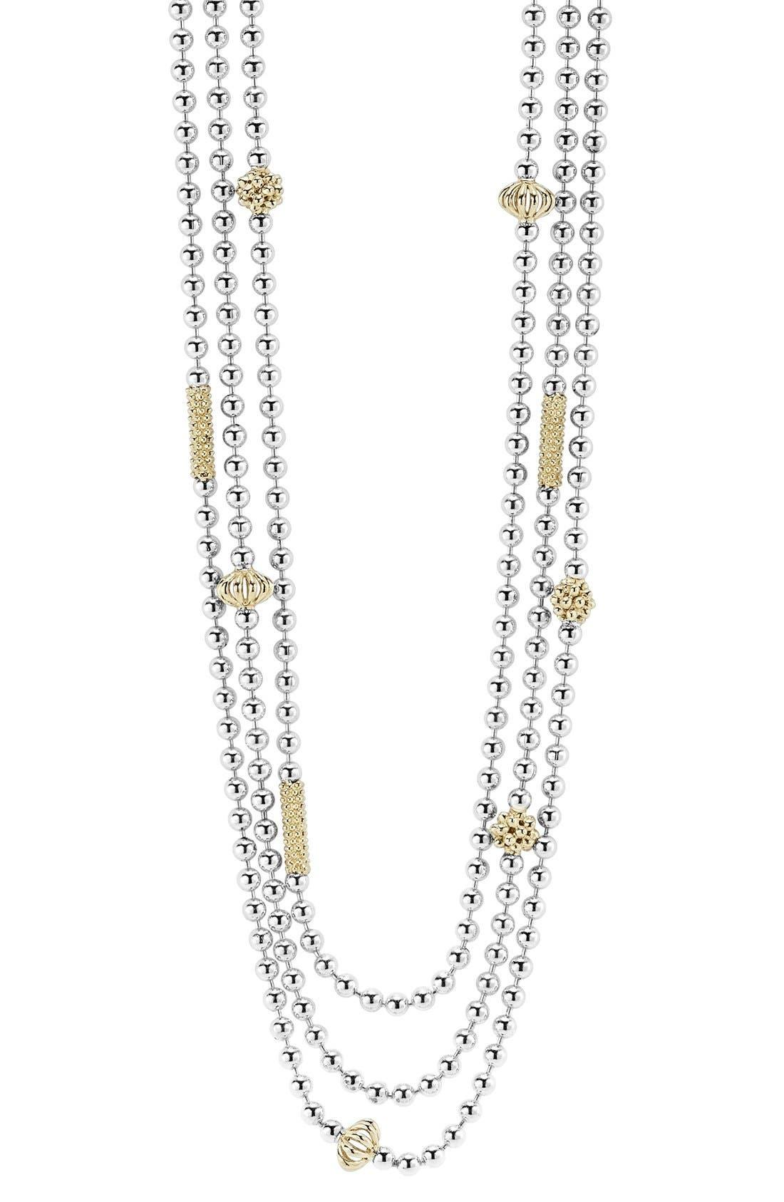 Alternate Image 2  - LAGOS 'Caviar Icon' Multistrand Necklace