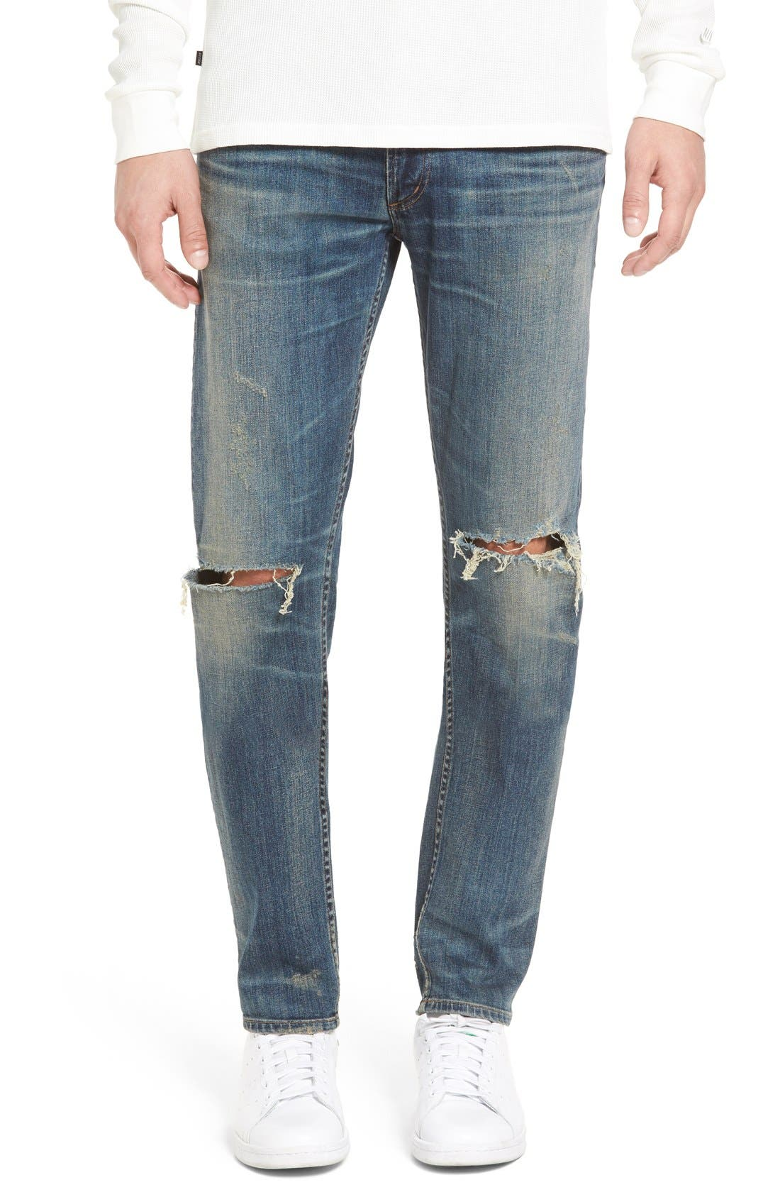 Bowery Slim Fit Jeans,                         Main,                         color, Weston